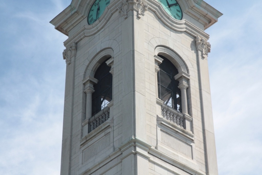 The four bells in the tower, named John, Saint Agnes, Anthony and Richard, are regularly rung.