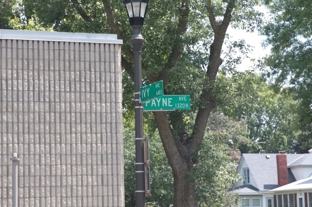 My first stop in Payne-Phalen was at the corner of Payne and Ivy Avenues.