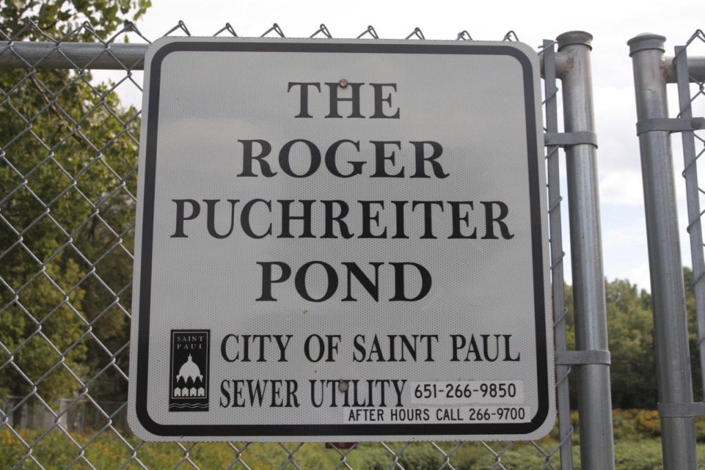 The Roger Puchreiter pond is on Ivy, between Kennard and Germain Streets.