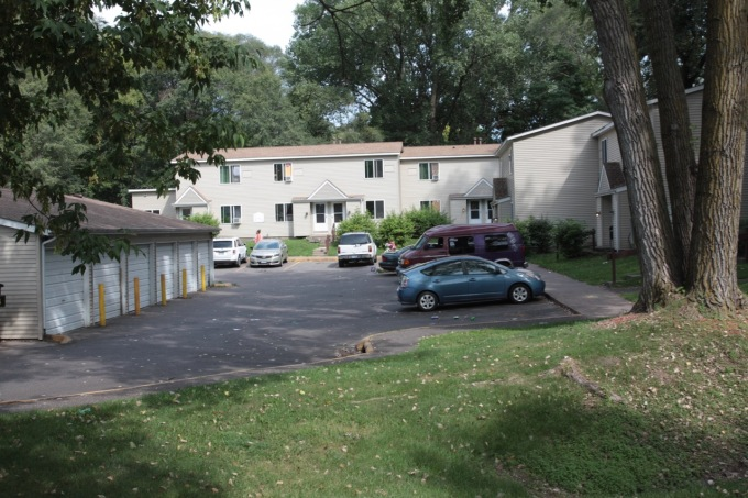 Etna Woods Townhomes, built in 1981, has two, three and four bedroom homes.