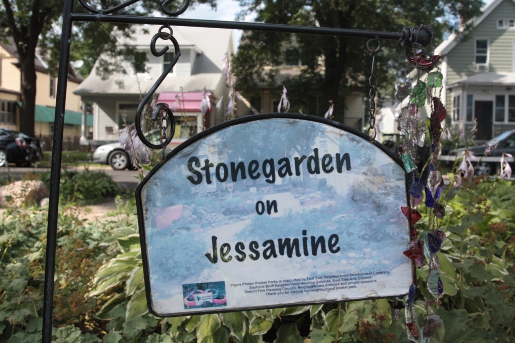 Stonegarden on Jessamine is one of three Payne Phalen Pocket Parks that a group of neighbors started to counter the negative perception of the East Side.