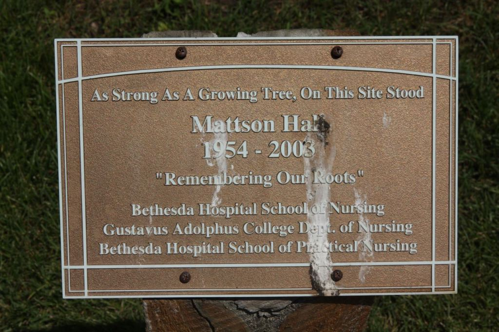 The Garden replaced Mattson Hall, Bethesda's Nursing School building, in 2003.