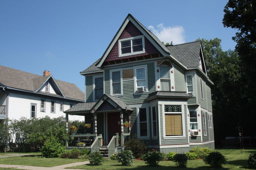 Bonnie and Ken Erickson's Victorian painted lady at 37 Como Avenue.
