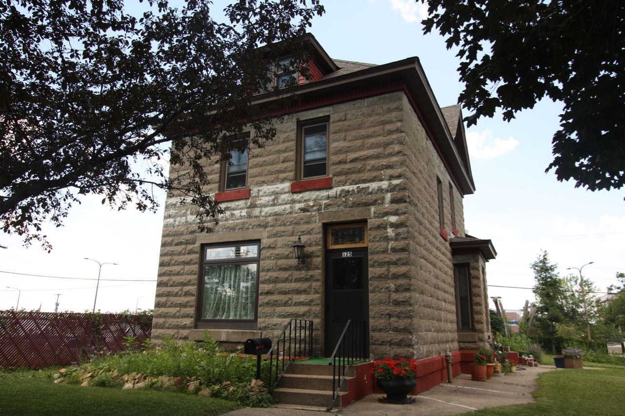 The stone house at 125 West Winter Street was built in 1902.