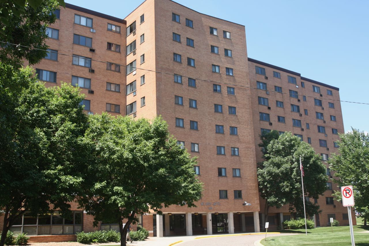 The 10-story Mt. Airy Hi-Rise, also built in 1959, has 153 one and two bedroom apartments and is the oldest of the City's public housing high rises.