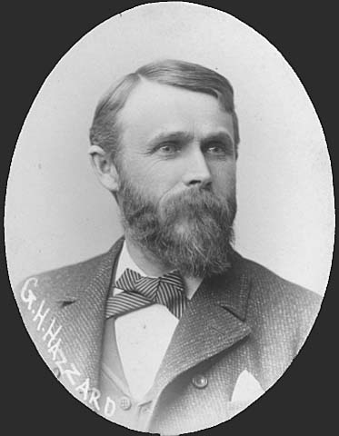 George H. Hazzard in 1889. Photo courtesy Minnesota Historical Society
