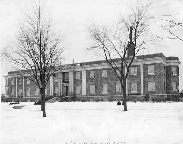 TThe original Jewish Home for the Aged building about 1925. Photo by Norton & Peel. Courtesy Minnesota Historical Society