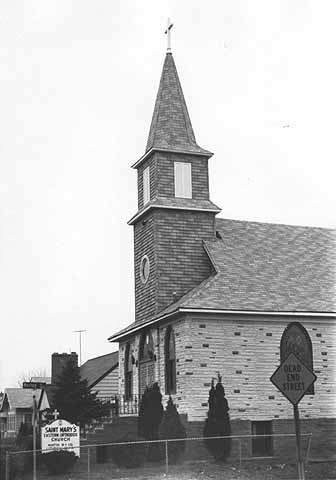 MNHS photo In 1981 the church was known as Saint Mary's Eastern Orthodox Church and was almost unrecognizable from the building today. Courtesy Minnesota Historical Society
