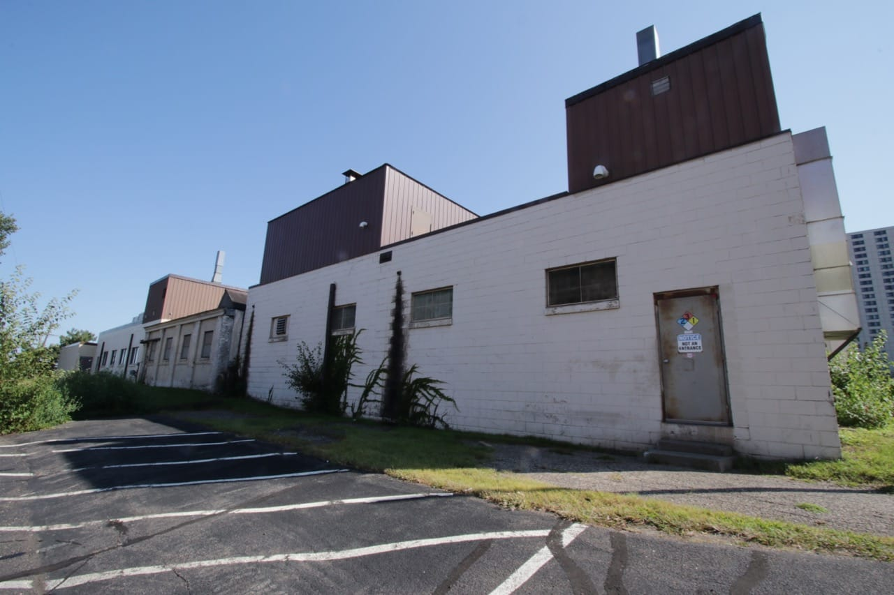 The back side of Rayven Inc.'s facility which is at 431 North Griggs.