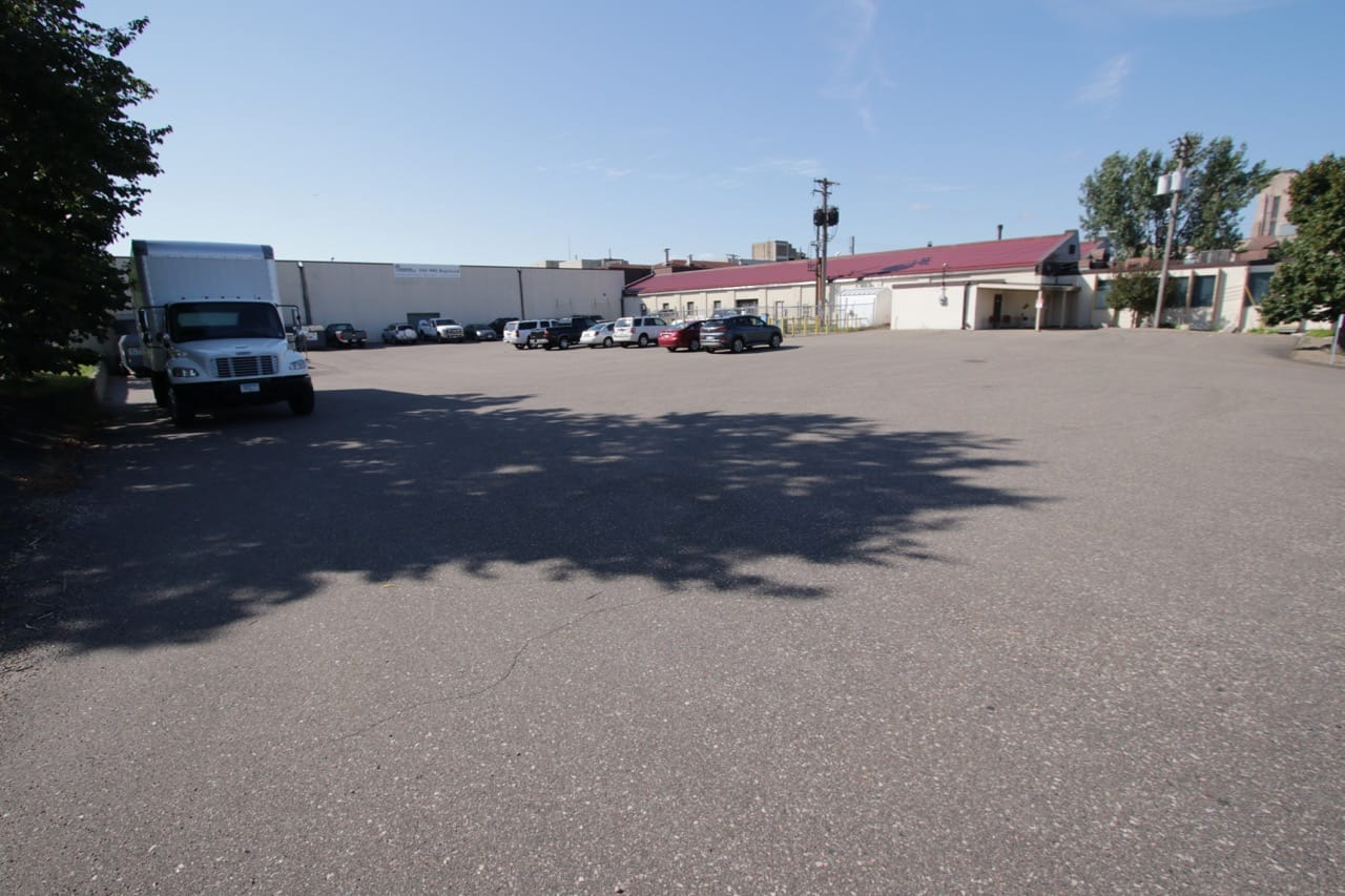 This wide angle shot of Rayven Inc. from Griggs gives a better idea of the number of buildings in the facility.