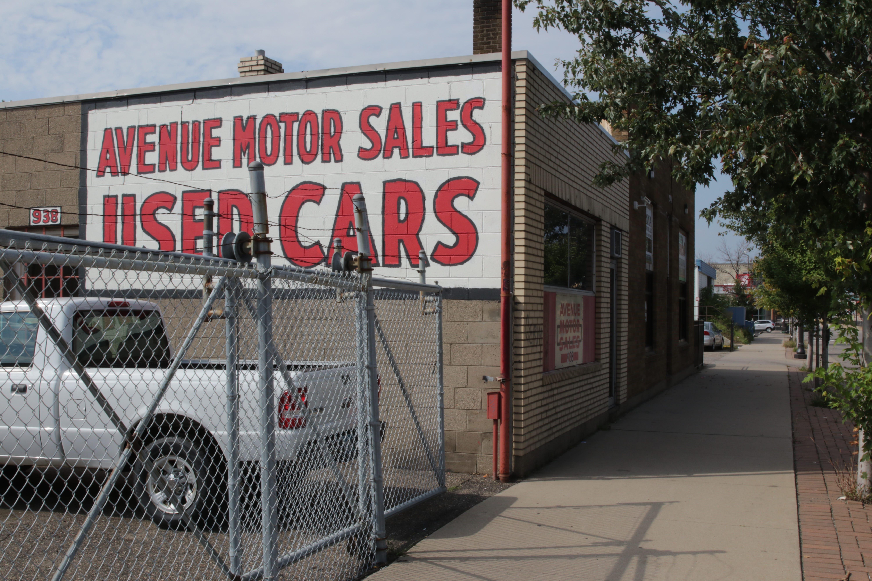 Avenue Motor Sales used cars, 938 University.