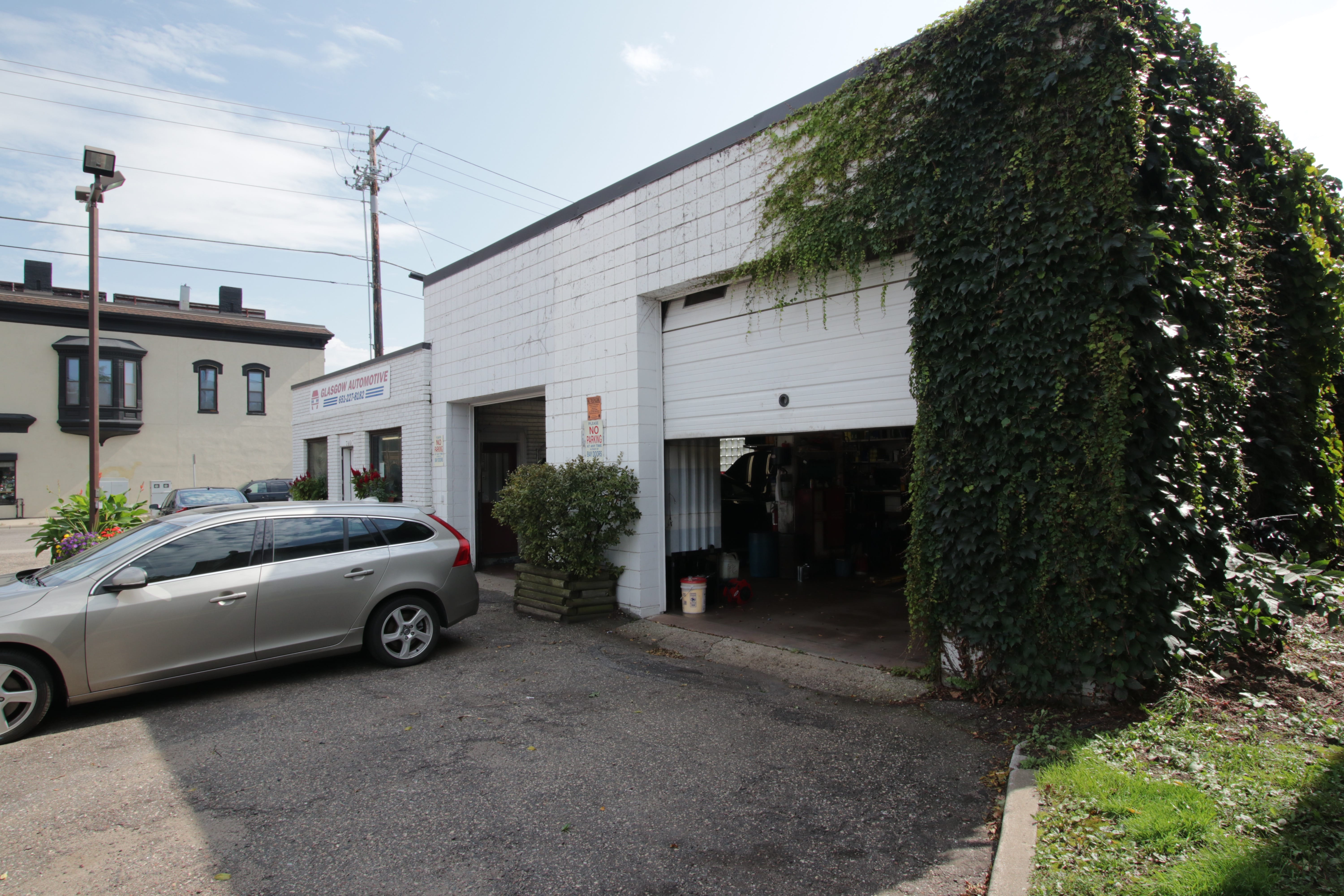 After buying out his father, Mike added the two garages to expand into auto repair.