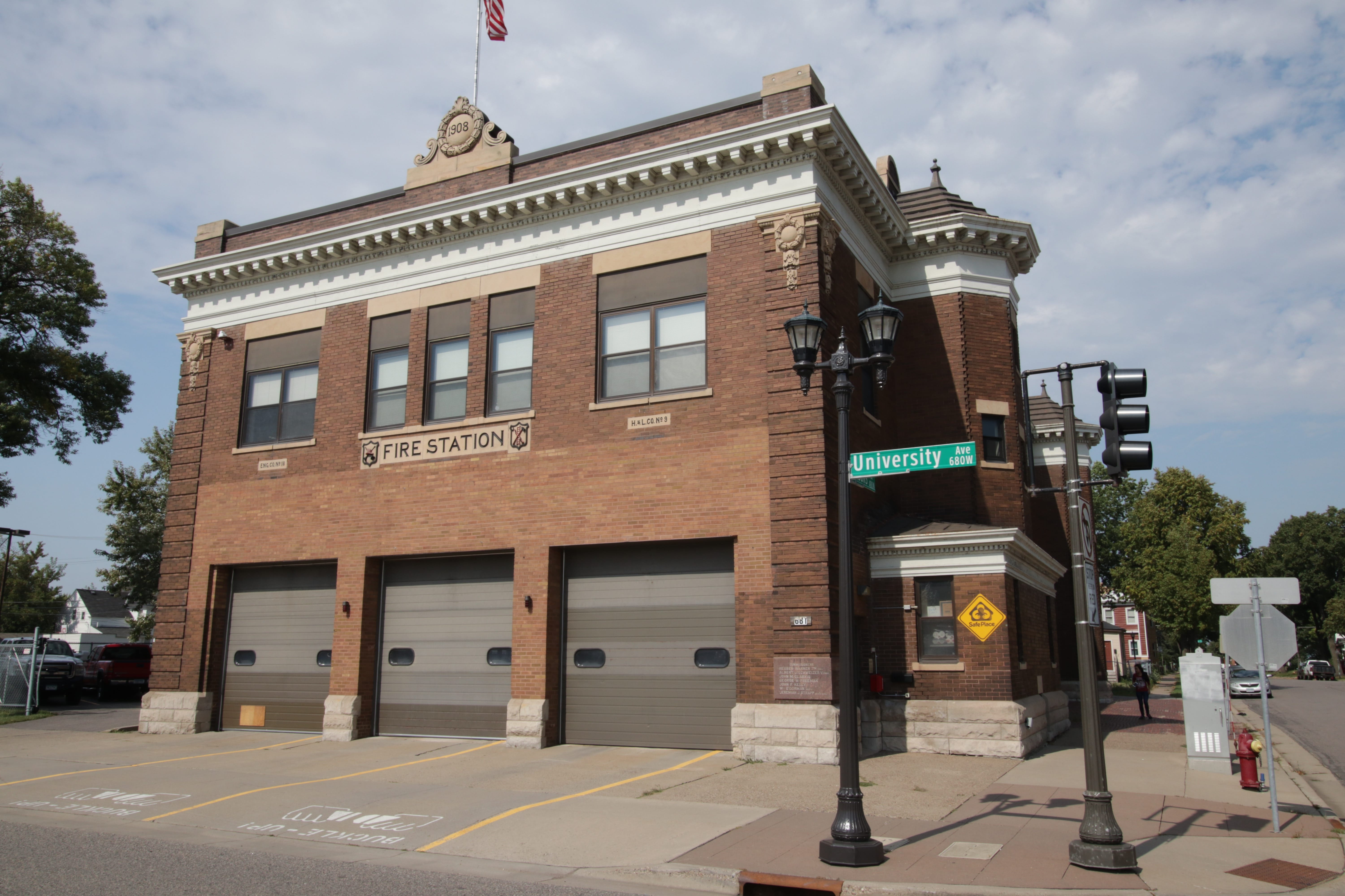 Station 18 at University and St. Albans is the city's longest continuously operating station.